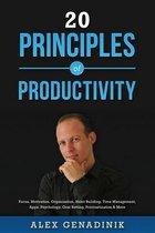 20 Principles of Productivity