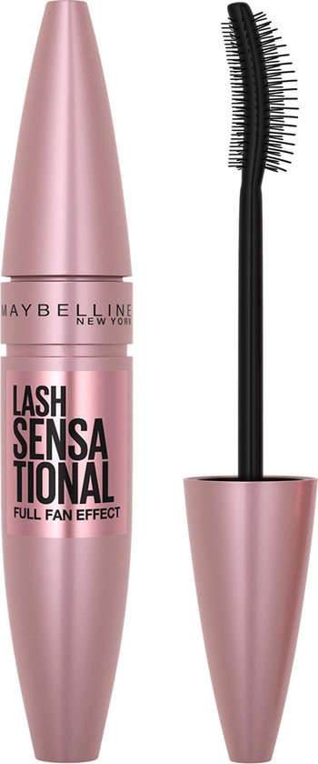 Maybelline Lash Sensational Mascara Very Black – Zwarte Volume Mascara - 9,5 ml