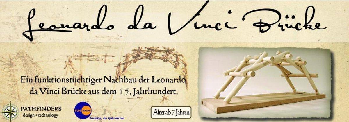 Leonardo da Vinci 3D puzzel: De Brug - duurzaam en educatief bouwpakket
