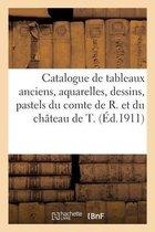 Catalogue de tableaux anciens, aquarelles, dessins, pastels, gravures, objets d'art et d'ameublement