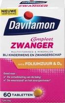 Davitamon Mama Compleet Zwanger - multivitamine bij kinderwens en zwangerschap - Bevat extra foliumzuur en vitamine D3 - 60 tabletten