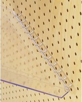 Tray plexiglass  wandbord   A4 10x