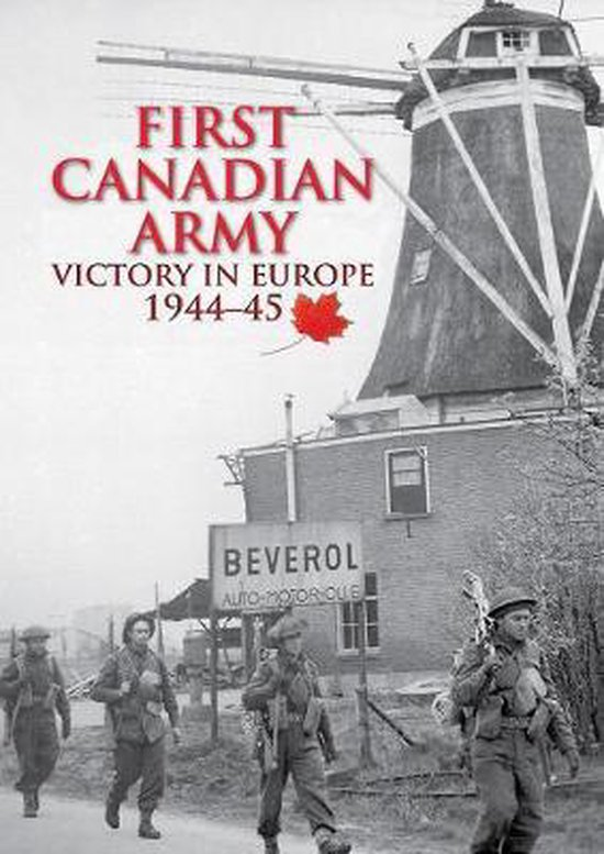 Boek cover First Canadian Army van Simon Forty (Hardcover)