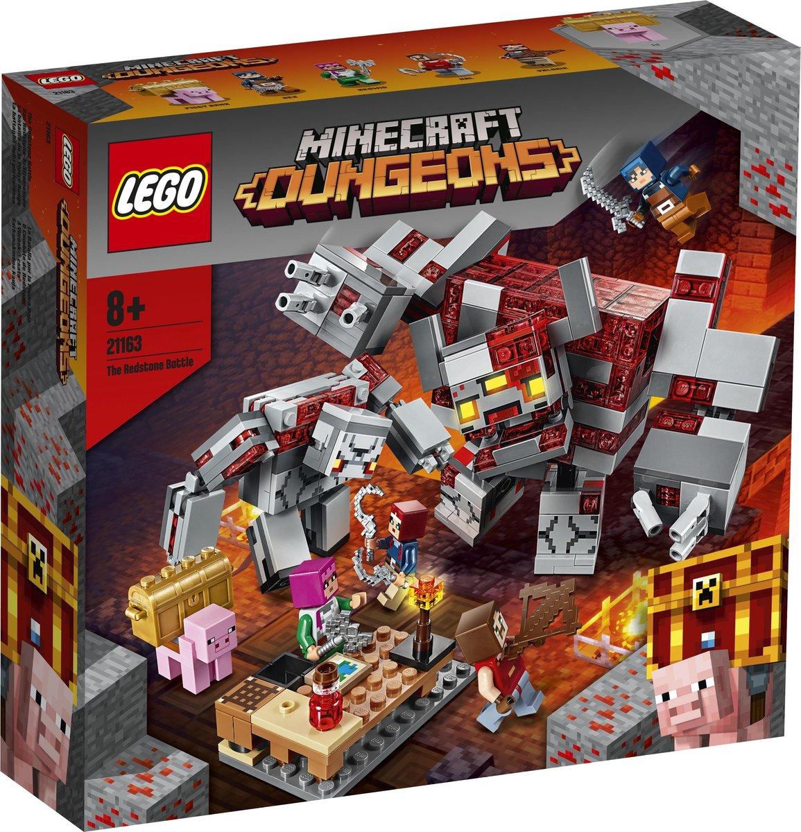 LEGO Minecraft Slag om Redstone - 21163
