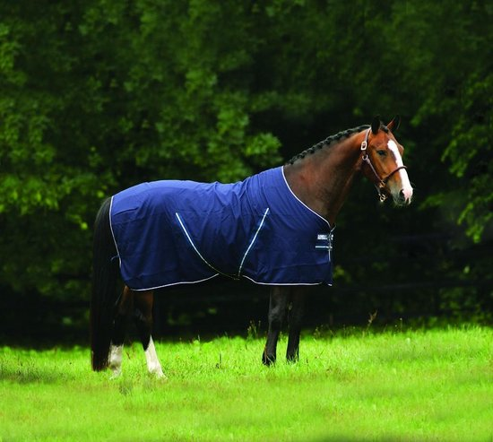 Horseware Rambo Stable Sheet Navy Blue 206cm