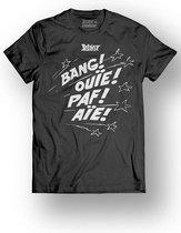 Merchandising ASTERIX & OBELIX - T-Shirt - Bang! Ouie! Paf! Aie! - Black (L)