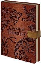 Game of Thrones Sigils Premium A5 Notebook