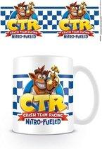 Crash Bandicoot Crash Team Racing Checkered Flag Mok