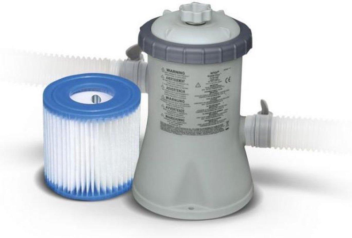 Filterpomp voor bad 244 / 305 cm - 1250 L/uur - 28602GS + 1 gratis filter H