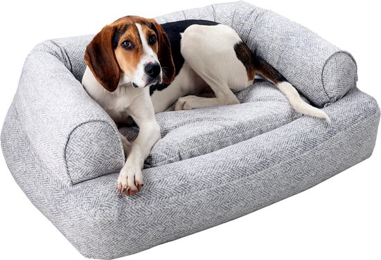 Snoozer Pet Products - Luxury Orthopedisch Hondenbed met Memory Foam - Palmer Dove (Showdog)-Small