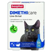 Beaphar DIMETHIcare Line On Kat - Vlooienbestrijding - 6 Pipetten