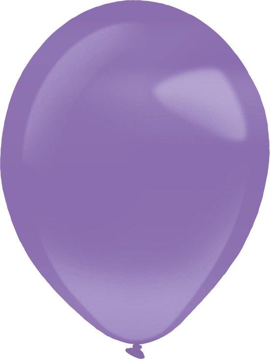 Amscan Ballonnen 28 Cm Latex Parelpaars 50 Stuks