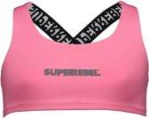 Superrebel Meisjes zwemkleding Superrebel girls swim top Pink 128