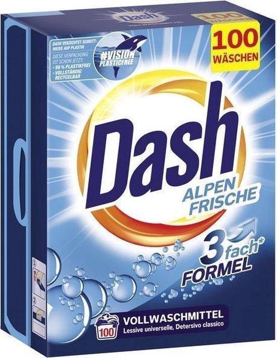 Dash Universeel waspoeder - XXL Pack - 100 wasbeurten