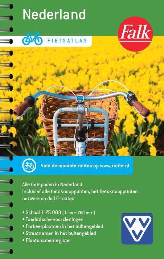 Boek cover Fietsatlas Nederland van  (Onbekend)
