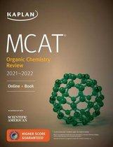 Boek cover MCAT Organic Chemistry Review 2021-2022 van Kaplan Test Prep