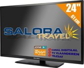 Salora Travel TV 24 inch LED9109CTS2 tv 61 cm (24'') 12 en 230 Volt HD Satelliet