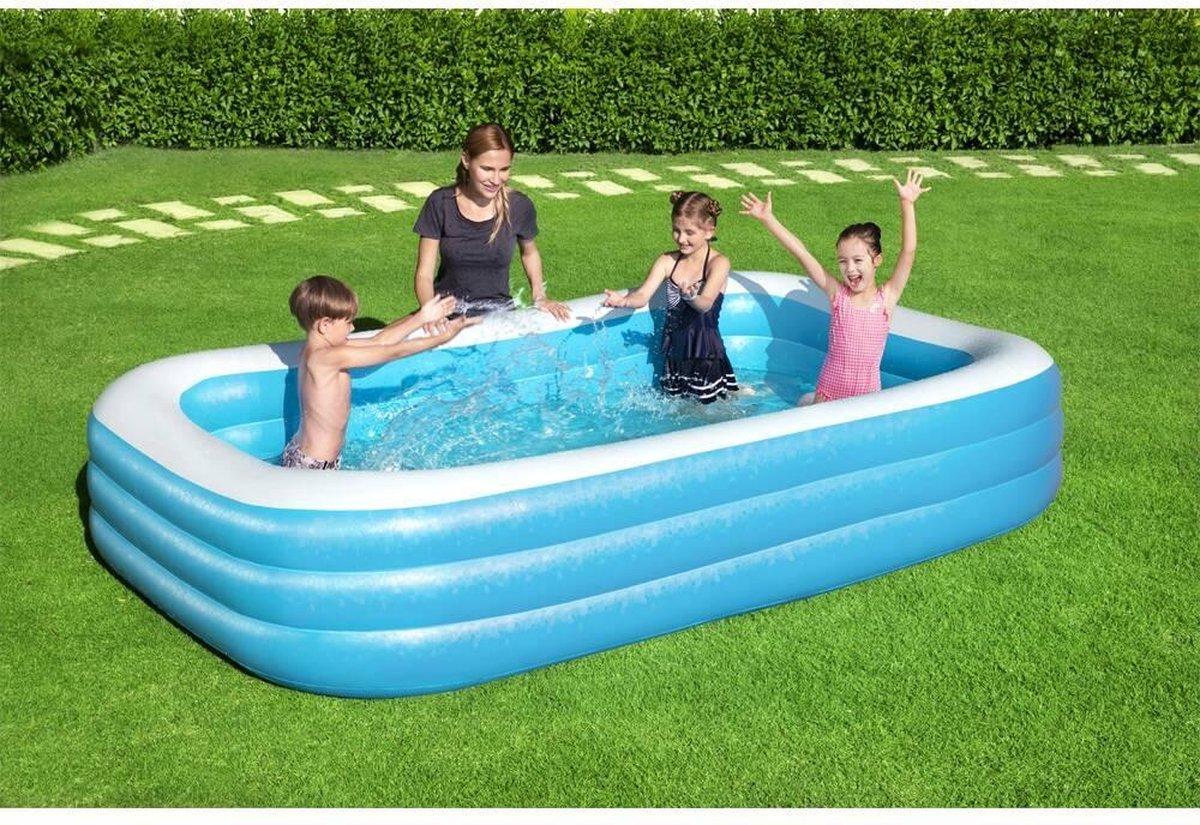 Zwembad - 305cm x183cm x 50cm  - Opblaasbaarzwembad - opblaasbare zwembad - opzetzwembaden - opblaaszwembad - zwembad- zwembaden - Zwembadset + GRATIS