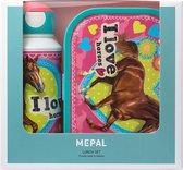 Mepal Lunchset Drinkfles En Lunchbox - Campus My Horse