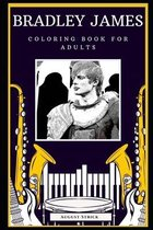 Bradley James Coloring Book for Adults