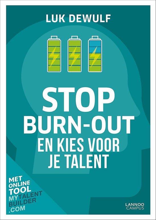 Boek cover Stop burn-out van Luk Dewulf (Paperback)