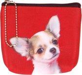 Kleine portemonnee chihuahua-