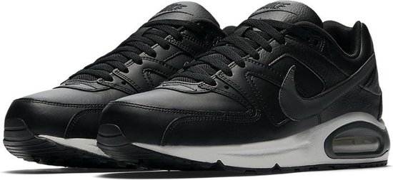 Nike Air Max Command Leather Sneaker Heren - Zwart/Neutral Grey/Anthracite - Maat 43