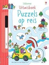 Omslag Uitwisboek Puzzels op reis