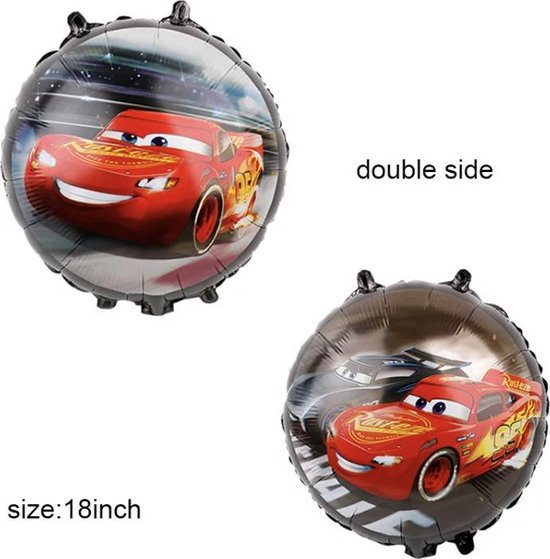 Cars Race Folie Ballon 18 Inch