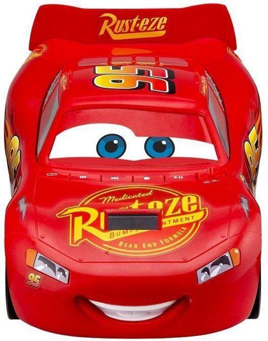 Disney - Cars CD speler - Lightning McQueen - Boombox - Rood