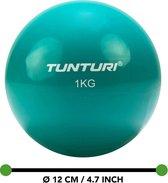 Tunturi Yoga Toningbal - Yoga bal - Fitnessbal - 1 kg - Paars