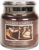 Village Candle Medium Jar Geurkaars - Brownie Delight