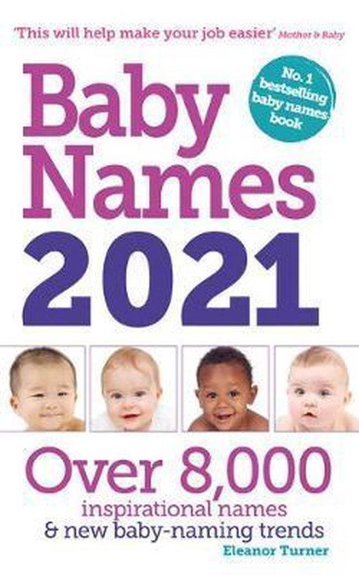 Boek cover Baby Names 2021 van Eleanor Turner (Paperback)