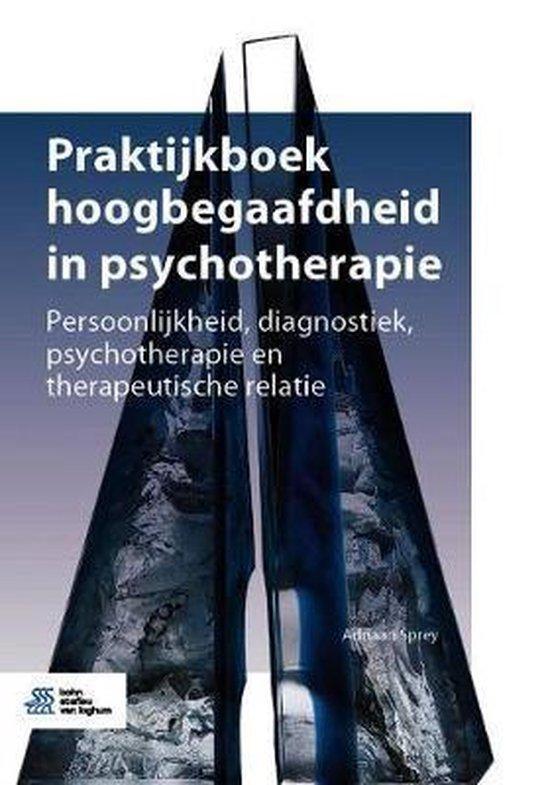 Praktijkboek hoogbegaafdheid in psychotherapie - Adriaan Sprey |