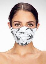 Design Mondkapje - Vogels dessin - Mondmasker - Facemask - 100% Katoen - Wasbaar - Birds