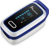 Phearthcare Saturatiemeter Zuurstofmeter met Inspectie Certificaat en Medische Kwalificatie - Blauw
