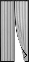 Magnetisch Vliegengordijn - 100x210 cm - Zwart