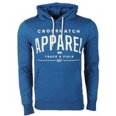 CrossHatch - Hoodie - Sweat - Model Flatleys - Blauw