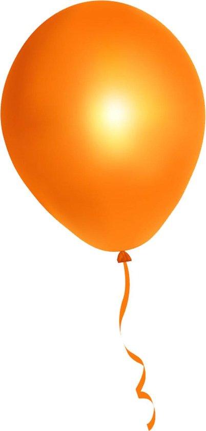 500 stuks oranje ballonnen - decoratie - latex - helium - feest - oranje - ballon