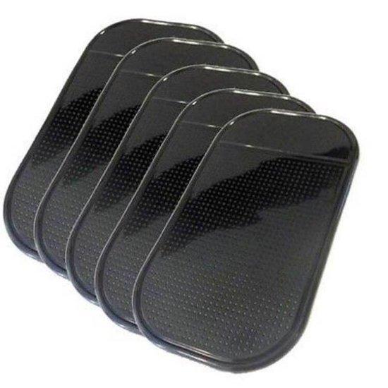 WiseGoods Dashboard Matje Antislip - Sticky Pads Auto - Kleverige Gel Pad - Telefoon Accessoire - Smartphone Houder - 5 Stuks