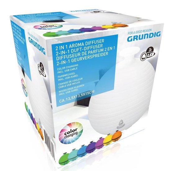 Grundig Aroma Diffuser - Wisselende kleuren - USB
