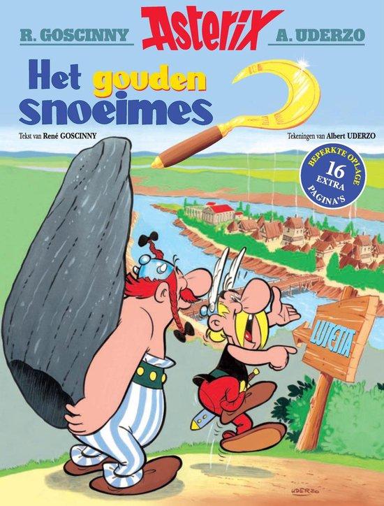 Boek cover Asterix speciale editie 02. het gouden snoeimes van Albert Uderzo (Paperback)