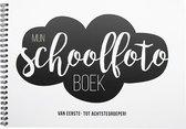 Schoolfotoboek -  Softcover - Mijn schoolfotoboek - invulboek - zwart/wit - ringband