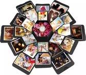 Explosion Box | Explosie Fotodoos | Explosie Foto Doos | Explosion Photo Box | Surprise Fotobox | Gift Box | DIY | Cadeau voor geliefde | Valentijn Cadeau | Cadeau voor vrouw | Cadeau voor man | Inclusief Videohandleiding