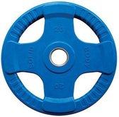Body-Solid Gekleurde Olympische Rubber Halterschijf - Gewichten - Blauw - 20 kg