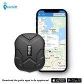 TRACKITT GPS Tracker met Magneet - Waterdicht - Voor IOS en Android