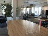 Plexiglas Werkplek Scheidingswand 160x65cm