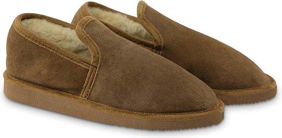 Texelana sloffen en pantoffels voor dames & heren - pantoffel van schapenvacht - model Christa - maat 42