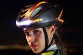 Smart Helm / fietshelm met verlichting en richtingaanwijzers, extra veilig voorlicht, achterlicht en knipperlichten om richting aan te geven
