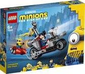 LEGO Minions Enerverende Motorachtervolging - 75549